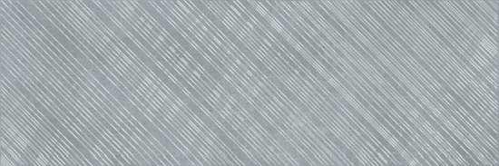 Cersanit AS2U092DT Декор керамический. Apeks Серый. 75*25 _ линии B