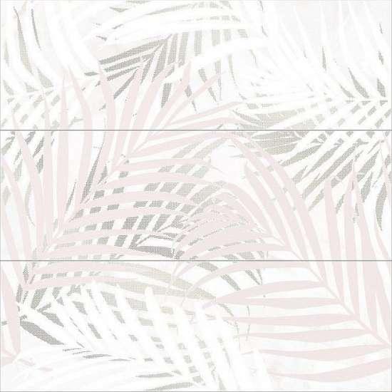 Cersanit SY2U013DT Декор керамический. Asai Бежевый. 75*75 _ панно из 3-х плиток