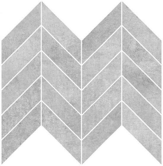 Cersanit A-BL2L091\G Декор керамический. Brooklyn Серый. 30*23 _ мозаика