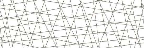 Cersanit VG2U051 Декор керамический. Vegas Белый. 75*25