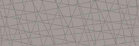 Cersanit VG2U091 Декор керамический. Vegas Серый. 75*25