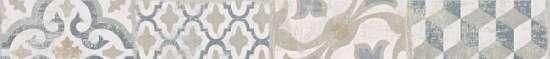 Global Tile (Safi) GT78VG Бордюр керамический Safi Серый 50*5,4