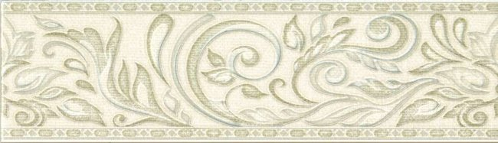 Global Tile (Adele) B24AW0701M Бордюр керамический Adele Бежевый 7,7*27 _Versale