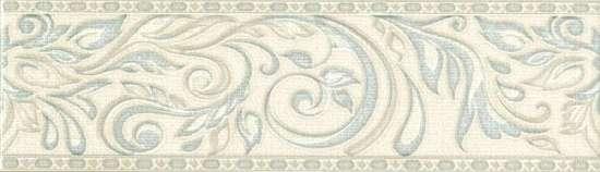 Global Tile (Adele) B24AW0748M Бордюр керамический Adele Голубой 7,7*27 _Versale
