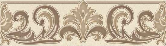 Global Tile (Marseillaise) B24MS4215TG Бордюр керамический. Marseillaise Бежевый. 7,7*27