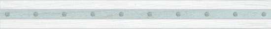 Global Tile (Calypso) 10200000062 Бордюр керамический. Calypso Белый. 60*6,5 01