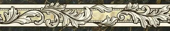 Global Tile (Classic) 10212001867 Бордюр керамический. Classic 7,5*40