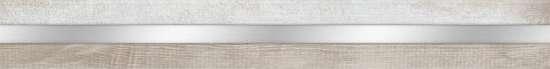 Global Tile (Terrazzo) 10200000006 Бордюр керамический. Terrazzo Белый. 60*6,5 01