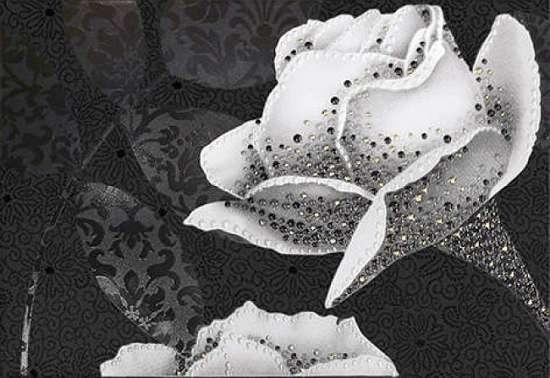 Керамин (Монро) МОН5ДТ2/27.5/40/13/П Декор керамический. Монро 5 40*27,5 тип 2