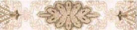 Керамин (Органза) ОРГ4Б27.5/6.2/22 Бордюр керамический. Органза 4 27,5*6,2