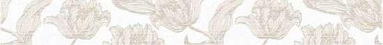 Azori Бордюр Mallorca Beige Floris 63*7.5 585081001