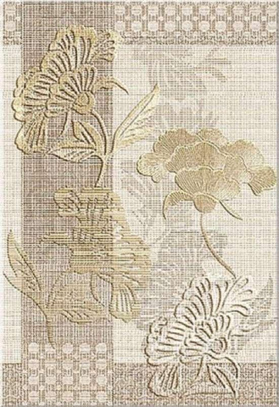 Azori Декор Сатти Флоу 40,5*27,8 плитка настенная 582902002