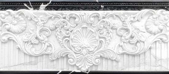 Kerasol (Armonia by Kerasol) Бордюр настенный Armonia Estatuaria Isabel Blanco Cenefa 11x25