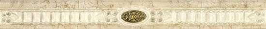 Kerasol Бордюр настенный Palmira Cenefa Perlato Sand 10x90
