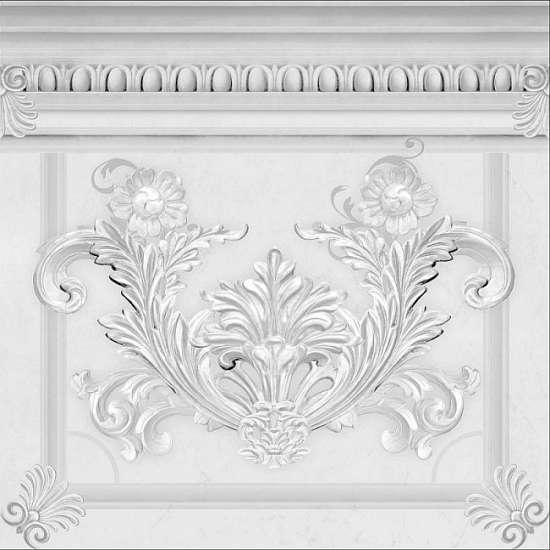 Kerasol Декор напольный Napoles Cenefa Belvedere 42,5x42,5