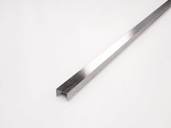 Kerasol Профиль из нержавеющей стали Inox Pencil Lija (Esmerilado-K) матовый 15x8x2500