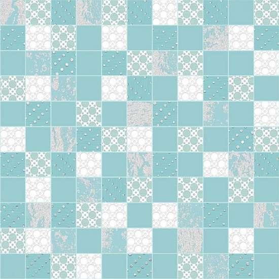 AltaCera Rainfall Mosaic Aquamarine  DW7MSC16 Декор 305х305
