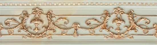 Novacera  NCC309007A. 09x30 NC Royal Listello Ornato Gold бордюр настенный