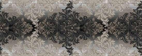 Березакерамика (Бристоль) Бристоль черный 20*50 Декор