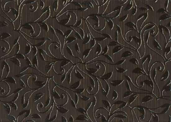 Березакерамика (Глория) Декор Глория коричневая 25*35