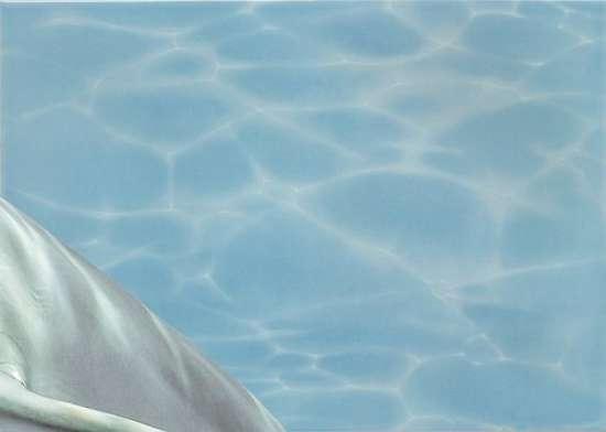 Березакерамика (Лазурь) Панно ,,Аква,, дельфин из 8 штук 25*35