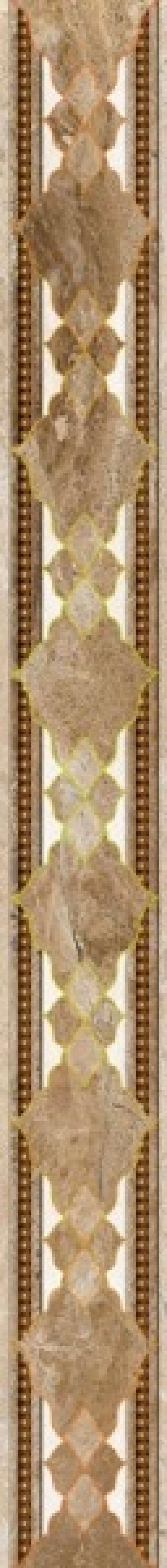 Березакерамика  Флоренция фриз коричневый 5,4*50