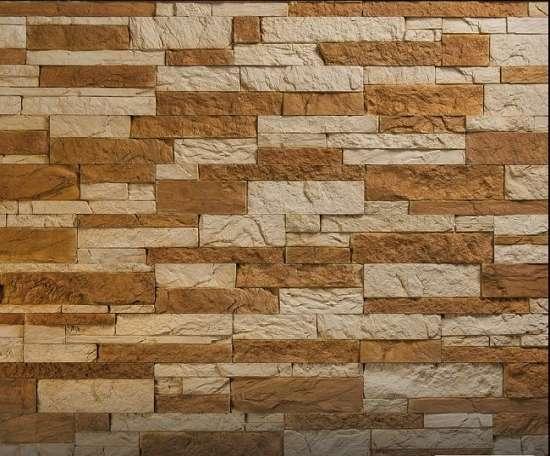 Камолов Декоративный камень, бетон Карпатский сланец СЛКА0114 400х95х12/250х95х12/150х95х12 В упаковке 0,76