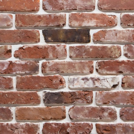 Камолов Декоративный камень, бетон Старинный кирпич КСТАР1000 260х65х23 В упаковке 0,37