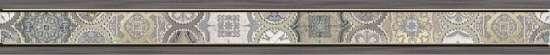 Уралкерамика (Alma Ceramica) Anatoly Бордюр настенный (60х600х8) BWU60 ANT404