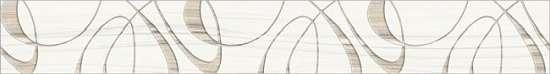 Уралкерамика (Alma Ceramica) Бордюр настенный (67х500х7,5) Plesso BWU53PLS004