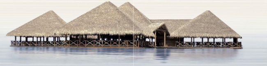 Уралкерамика (Alma Ceramica) Декор панно настенный (249х1000х7,5) Del Mare (компл - 2шт) PWU09DLM1