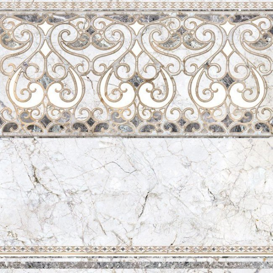 Уралкерамика (Alma Ceramica) Декор напольный керамогранит (600х600х9) Pareto DFU04PAR17R (ALMA CERAMICA)