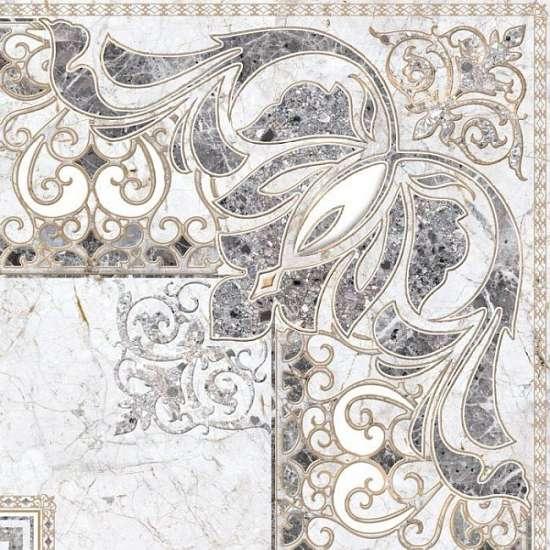 Уралкерамика (Alma Ceramica) Декор напольный керамогранит (600х600х9) Pareto DFU04PAR27R (ALMA CERAMICA)