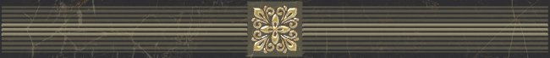 Laparet Royal Бордюр чёрный 6,3х60