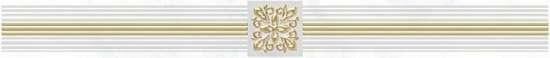 Laparet Royal Бордюр белый 6,3х60