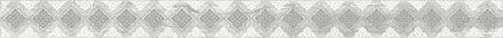 Laparet Glossy Бордюр серый 4,8х60