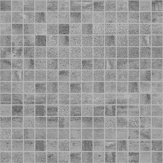 Laparet Concrete Мозаика тёмно-серый 30х30