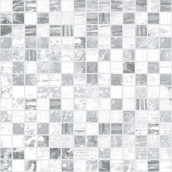 Laparet Extra Мозаика серый+белый 30х30