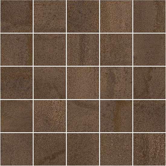 Laparet Metallica Декор мозаичный коричневый MM34035 25х25