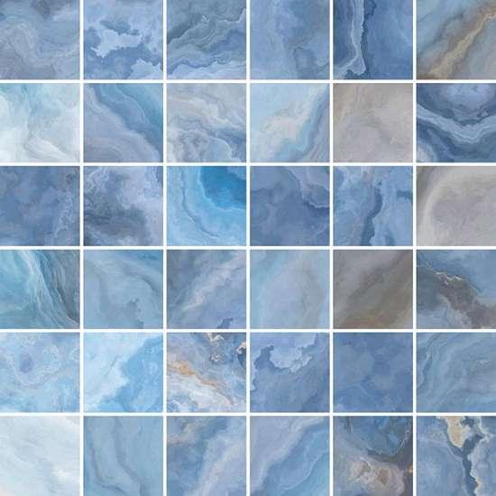 Laparet (Blues) Blues Мозаика голубой 30х30