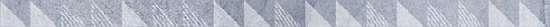 LВ-ceramics (Vestanvind) Бордюр керамический. Вестанвинд Голубой 1506-0023 60*2,5