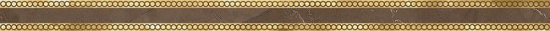 LВ-ceramics (Milanese Design) Бордюр Миланезе дизайн римский марроне  коричневый 1506-0159 60*3,6