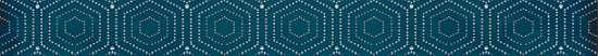LВ-ceramics (Parisian) Бордюр Парижанка геометрия Синий 1506-0175  60*6