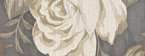 LВ-ceramics (Fiori Grigio) Бордюр Фиори Гриджо 1501-0100  20*7,5
