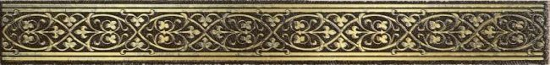 LВ-ceramics (Катар) Бордюр Катар Коричневый  1502-0578  25*2,8