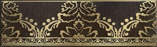 LВ-ceramics (Катар) Бордюр керамический. Катар Коричневый 1502-0576  25*7,5