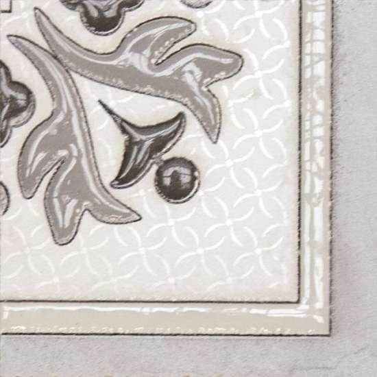 LВ-ceramics (Бьянка Каррара) Декор напольный Бьянка Каррара белый 3610-0004  10*10