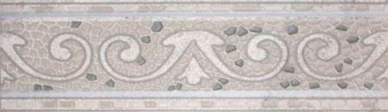 LВ-ceramics Бордюр Тенерифе Серебряный 3604-0104  45*14