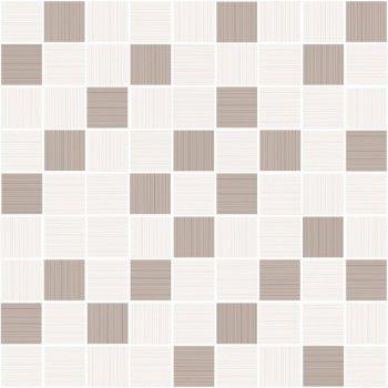 Cersanit (Tiffany beige) вставка: Tiffany мозаика, (A-TV2L011\G) бежевый, 30x30