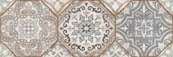 Cersanit (Majolica beige) вставка: Majolica, (MA2S451DT) многоцветный, 20x60